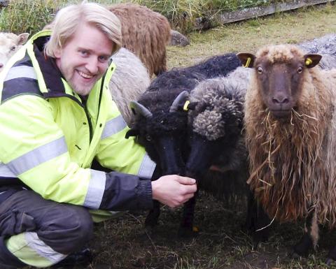 FINALIST: Knut Halvor Aschjem fra Ås går en spennende tid i møte.FOTO: SOLVEIG WESSEL