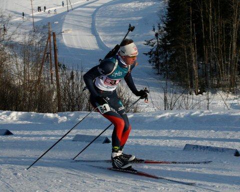 TALENT: Skiskytter Fredrik Grusd fra Fossum.