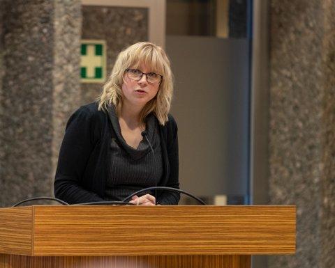 Spørsmål: Maja Solli (V) spurte om det er flere unge i Sunndal som har foreldre med rusproblem enn andre plasser. Arkivfoto.