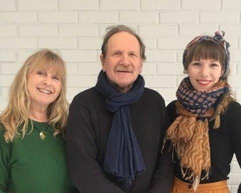Antia Bakken, Leif Johnsen og Maya Riise, 3., 1. og 2. kandidat MDG Alver
