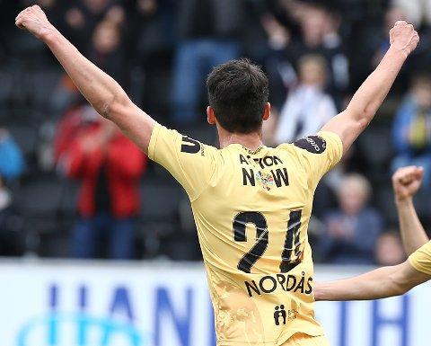 Kjemper videre: Se Lasse Nordås og resten av Bodø/Glimt kjempe om Europa-avansement mot Prishtina torsdag.