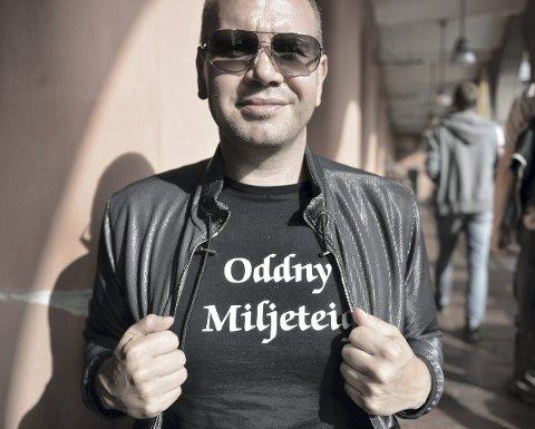 Ny bok: Kristian Fjellanger har fått stipend av Fritt Ord til å skrive en barnebok. Arkivfoto: Kai Svellingen Flatekvål