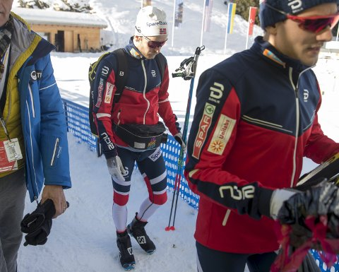 OL i februar kan se ut til å glippe for vossingen Sur Røthe, som ikke får det til å stemme i skisporet.