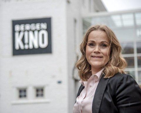 Kinosjef Jeanette Heggland sier at Bergen Kino registrerer at alkoholservering er noe kundene på kinoen ønsker seg. Arkivfoto: BA