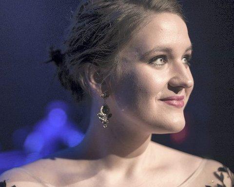 Aktuell med spellemann-nominasjon: Lise Davidsen er blitt nominert til Spellemannprisen i kategorien «Årets nykommer». foto: Ole jørgen bratland
