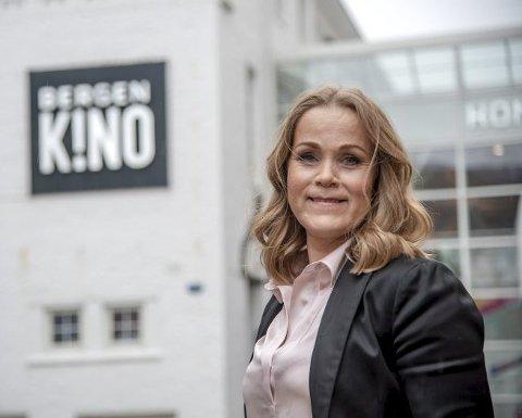 Direktør Jeanette Heggland i Bergen kino sier at permanent alkoholservering er noe de vurderer.