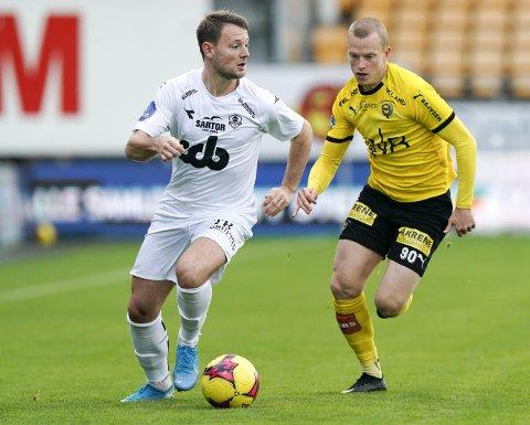 Thor Kristian Økland og Øygarden tapte fortjent borte mot Lillestrøm i går. Øygarden må belage seg på en tøff kamp for å berge plassen i 1. divisjon.