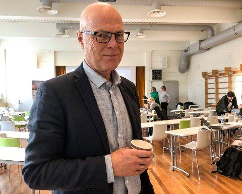 STYREMEDLEM: Geir Strømmen er selv lege, og tok bladet fra munnen da styret i Vestre Viken diskuterte omfanget av brudd på arbeidmiljøloven. Vestre Viken-ledelsen setter nå i gang et prosjekt for å få ned tallet på lovbrudd.