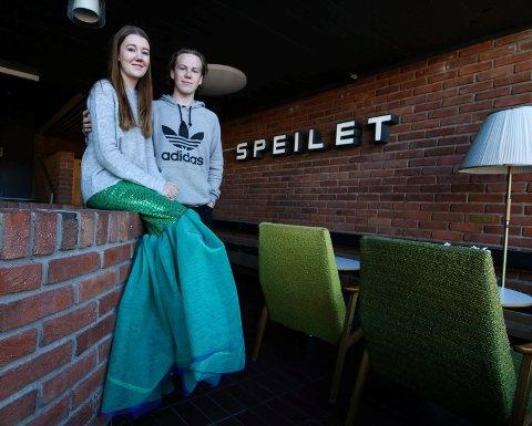 PARET: Silje Gillerstedt Mogen og Lars Joakim Espelund skal få hverandre som havfrue og prins.