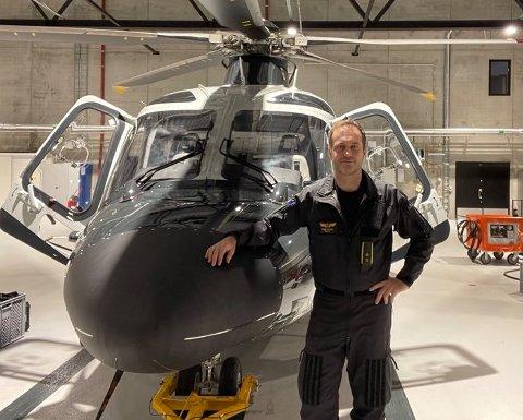REDNINGSMANN: Pilot og haldenser Lars R. Aakre.