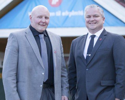 Fornøyd: Rune Østergren i Narvik Frp møtte statssekretær Tom Cato Karlsen i samferdselsdepartementet. Han er fornøyd med signalene han fikk.