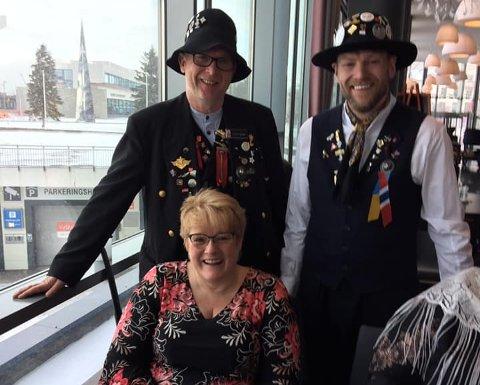 Nytt medlem: Rallarklubben fikk fredag et nytt og kjent medlem med seg, i form av kulturminister Trine Skei Grande.