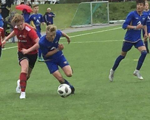 TAPTE KNEPENT: Håkvik sine gutter ble slått ut av Norway Cup onsdag formiddag. (Foto: Privat)