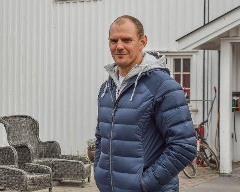 SYKKELULYKKE: Olaf Tufte har benyttet koronatida til å teste forskjellige treningsformer, blant andre sykling. Det gikk ikke så bra sist søndag.