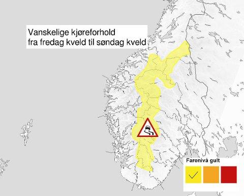 - Det er kanskje ikke å anbefale å krysse fjellet i helga, sier statsmeteorolog Eldbjørg Moxnes.