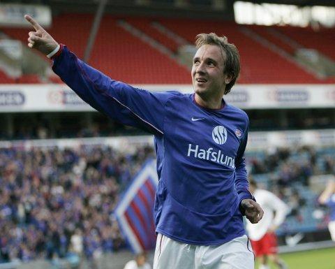 UNG: Bernt Hulsker herjet i cupen for Vålerenga i 2005. Han scoret blant annet fem mål på Westernsletta. Foto: Tor Richardsen / SCANPIX