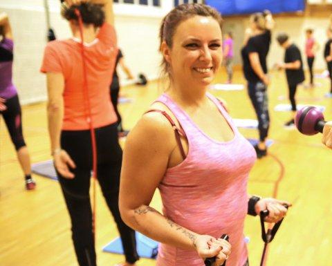 GJENVALGT: Christine Moe Klingstrøm fortsetter som leder i Fredrikshalds Turnforening, som har planer om å vokse både sportslig og organisatorisk.