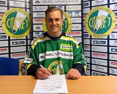 LANGTIDSKONTRAKT: Herman Benjo Kopperud har signert en 3-års kontrakt med moderklubben Comet.