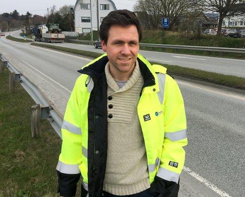 UTRYGG IS: Parksjef Vegard Forberg.