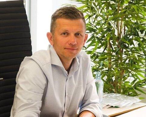 REKORDÅR: Banksjef Rune Ramsvik mener det er jobben de ansatte har gjort, som har resultert i ny rekord for Etne Sparebank.