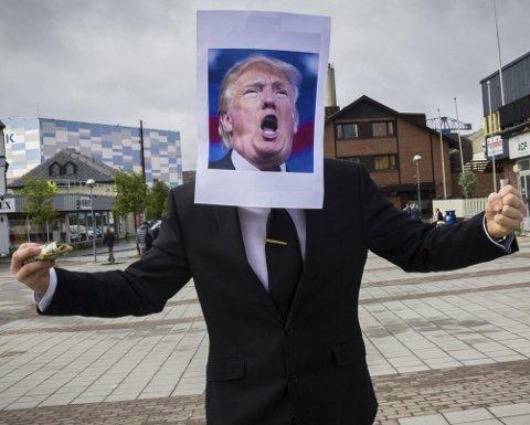 BØLGER GJENNOM VERDEN: Donald J. Trump vil ta mindre ansvar for Europa, enn hva presidentene har gjort så langt. Uten et sterkt USA i ryggen, kan det bli vanskeligere å få gjennomslag for norske interesser ovenfor Russland. Foto: Stian Hansen