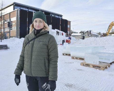 PRODUSENT: Benedicte Lyng har sydd sammen programmet til Borealis Vinterfestival for andre gang.