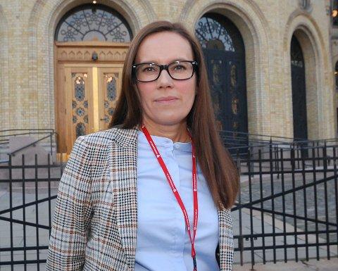 LANGT FRA SIKKER: Normalt ville Marianne Sivertsen Næss vært sikret stortingsplass siden hun er nummer to på Ap-lista, men valgforsker mener plassen langt fra er sikret.