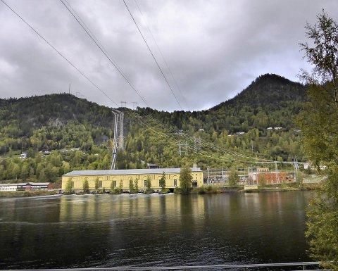 Nore I kraftverk – Rødberg–Nore og Uvdal–bildet tatt sommeren 2014. Foto: Christian Mauno