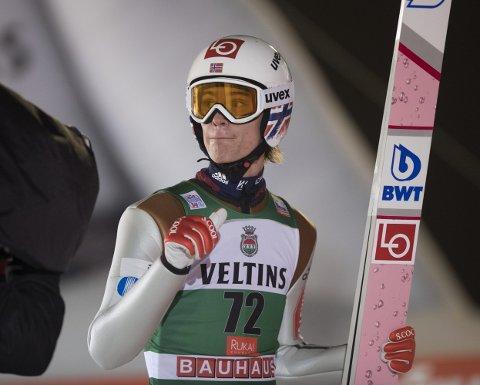 OL-KLAR: Daniel-André Tande har foreløpig ikke fått klarsignal for OL, men får det ganske snart.Foto: Terje Pedersen / NTB scanpix