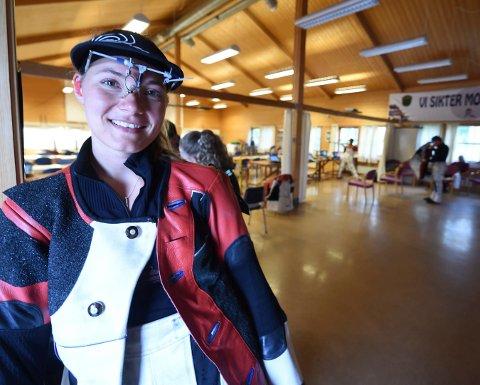 VANT PÅ ÅL: Katrine Aannestad Lund vant Haddingstevnet, da hun tangerte persen sin på 349 poeng. Bildet er tatt under Elverum Open tidligere i sommer. FOTO: OLE JOHN HOSTVEDT