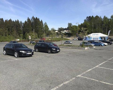 Forutsigbarhet: Nå ønskes det ny reguleringsplan før nye tiltak kan komme på Liertoppens parkering. Foto: G H Torgersen