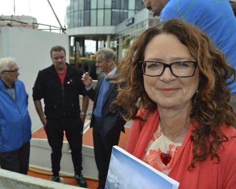 Må endres: Fiskeripolitisk talsperson i Ap, Ingrid Heggø, mener pliktkommisjonens forslag må endres.