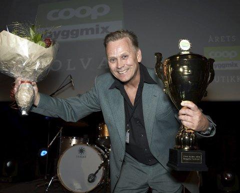 Coop Forum: Butikksjef John Karlsen i Coop Byggmix Svolvær etter premieutdelingen i Coop Forum på Gardermoen.