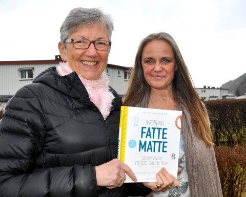 BESTSELGER MED BISMAK: Forfatterne av boken «Hvordan fatte matte», Elin Natås (til venstre) og Anne Lene Johnsen, mener de ikke har fått de royaltyutbetalingene de har krav på fra Panta forlag.