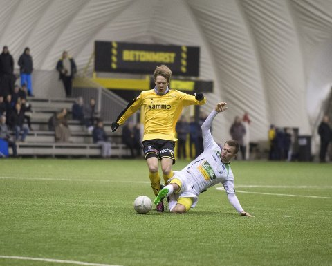 TRIVDES: Markus Naglestad stortrivdes sammen med Rocky Lekaj i Raufoss-angrepet. Foto: Henning Gulbrandsen