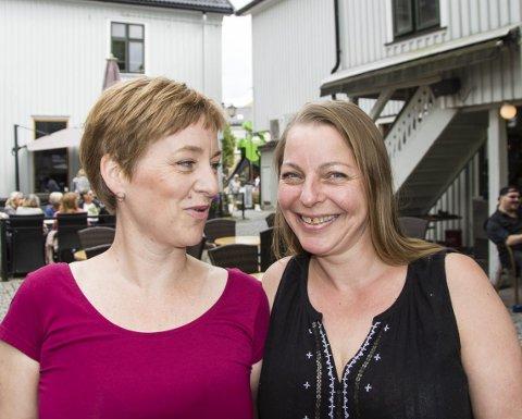 Arrangører: Marianne Moen og Kjersti Kongssund er hovedarkitektene bak arrangementene.arkivfoto: per albrigtsen
