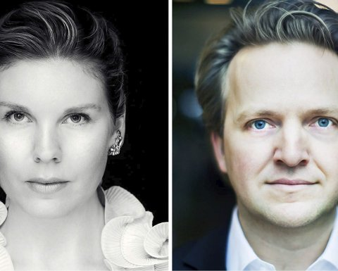 Tilbake: Sopranen Marianne Folkestad Jahren og pianisten Joachim Knoph har besøkt Larvik sammen før.