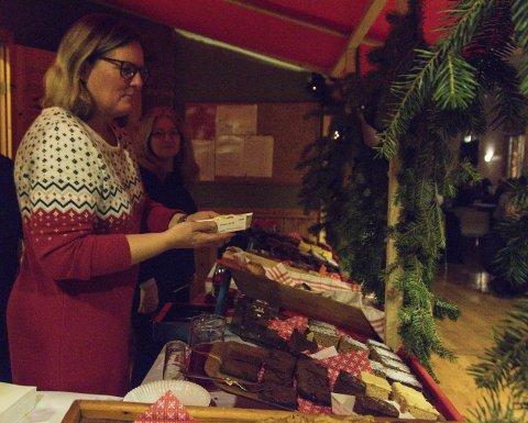 Julegodt: Som alltid diskes det opp med godsaker når det er juleshow på Bjerkely.arkivfoto
