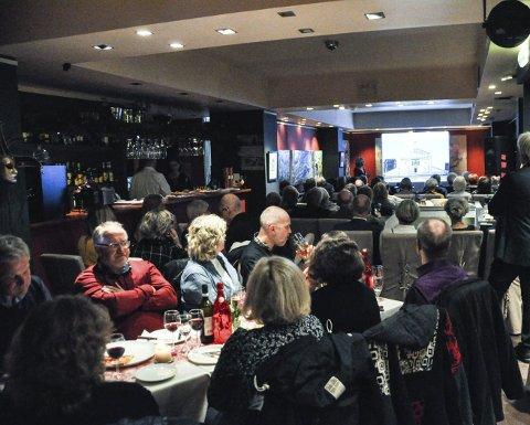 Populært: Foredragene på Il Passatore trekker mange lærevillige publikummere.