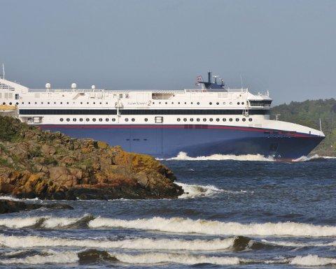 Truet: 49-åringen truet med å drepe både den ene og den andre ombord på Superspeed og måtte settes på cella på båten. Arkivfoto
