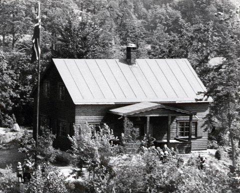1933: Slik så hytta ut ved åpningen i 1933.arkivfoto