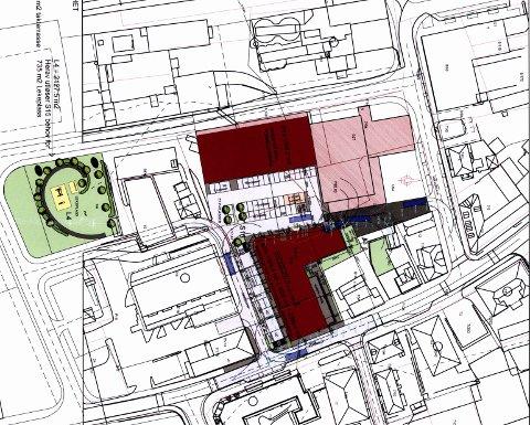 Tre dispensasjoner: Formannskapet ga dispensasjon slik at byggeprosjektet for Heiergården kan realiseres.
