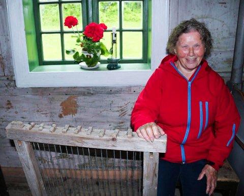 Edderunsdyner på stenesdagen Gerd Johansen