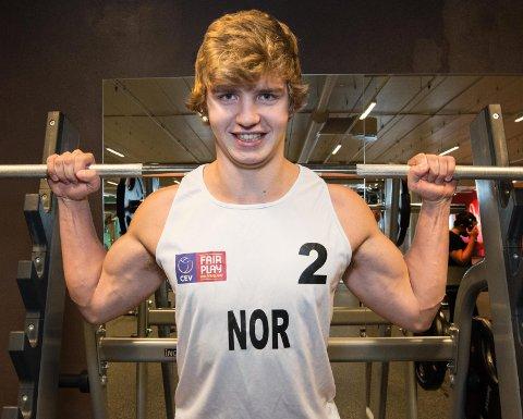 NYE LØFT: En helt nytt lag bestående av Norges mest lovende sandvolleyballspillere gjør at Christian Sandlie Sørum nå kan satse enda hardere inn mot OL i 2020. FOTO: VIDAR SANDNES