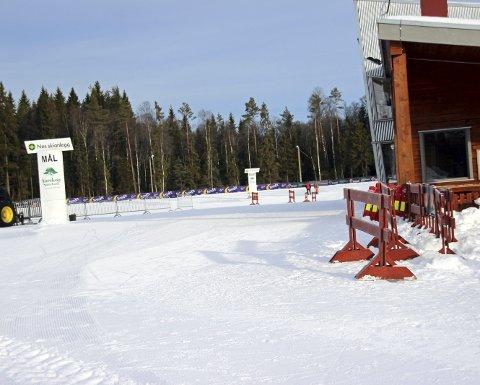 Krever oppgradering: Nes skianlegg tilfredsstiller i dag ikke kravene som Norges Skiforbund stiller til NM-arrangørene. Foto: Martin Holterhuset