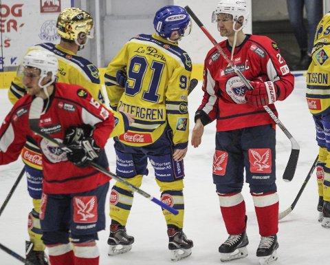 Ferdigspilt: Mats Trygg og lagkameratene var onsdag ferdig med sesongen etter kvartfinaletapet. Begge foto: Martin Holterhuset