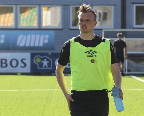 På hogget: Ole Andreas Nesset sto ikke lengst fram i køen da seriespillet startet. Nå er 29-åringen Ull/Kisas suverene toppscorer. Foto: Per Morten Sødal
