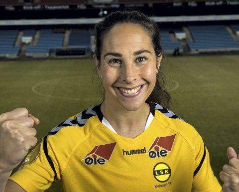 Sulten på gull: Ingrid Moe Wold er klar for den motstanderen LSK Kvinner får i neste runde. Foto: NTB scanpix