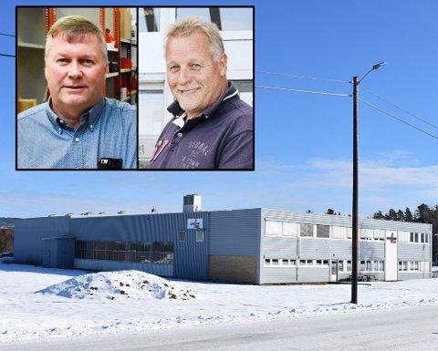 Tjener gode penger: Brødrene Per (øverst) og Pål Nordby selger unna deler av sin store næringseiendom.