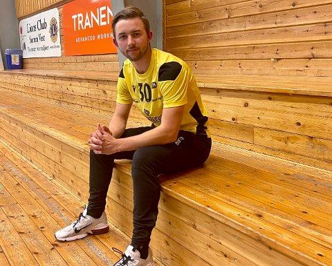 STORE DRØMMER: LTHs Adrian Pettersen legger ikke skjul på at han drømmer om å spille håndball i utlandet.